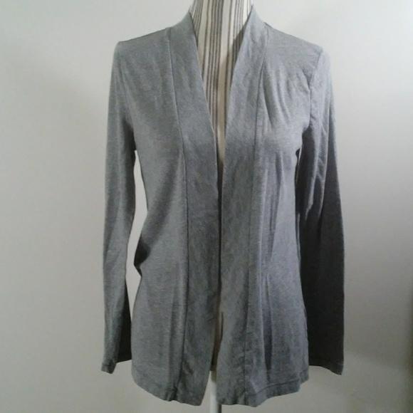 5f2e0dfddd J. Crew Factory Sweaters - J.Crew Factory Always gray cardigan size M